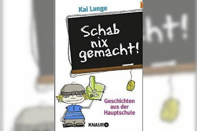 Geschichten aus der Hauptschule von Kai Lange: Schab nix gemacht