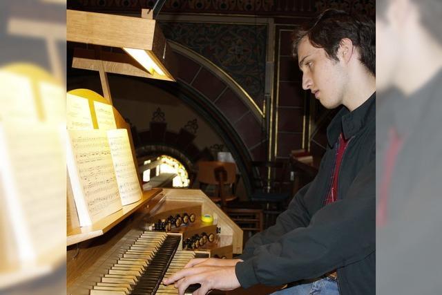 Junger Organist wirkt in Boller Marienkirche