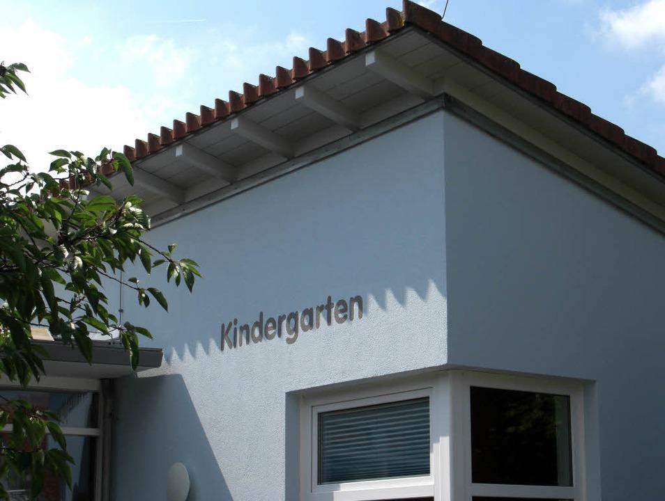 Über ein frisch gestrichenes Domizil d...intersweiler Kindergartenkinde freuen.    Foto: Gemeindeverwaltung