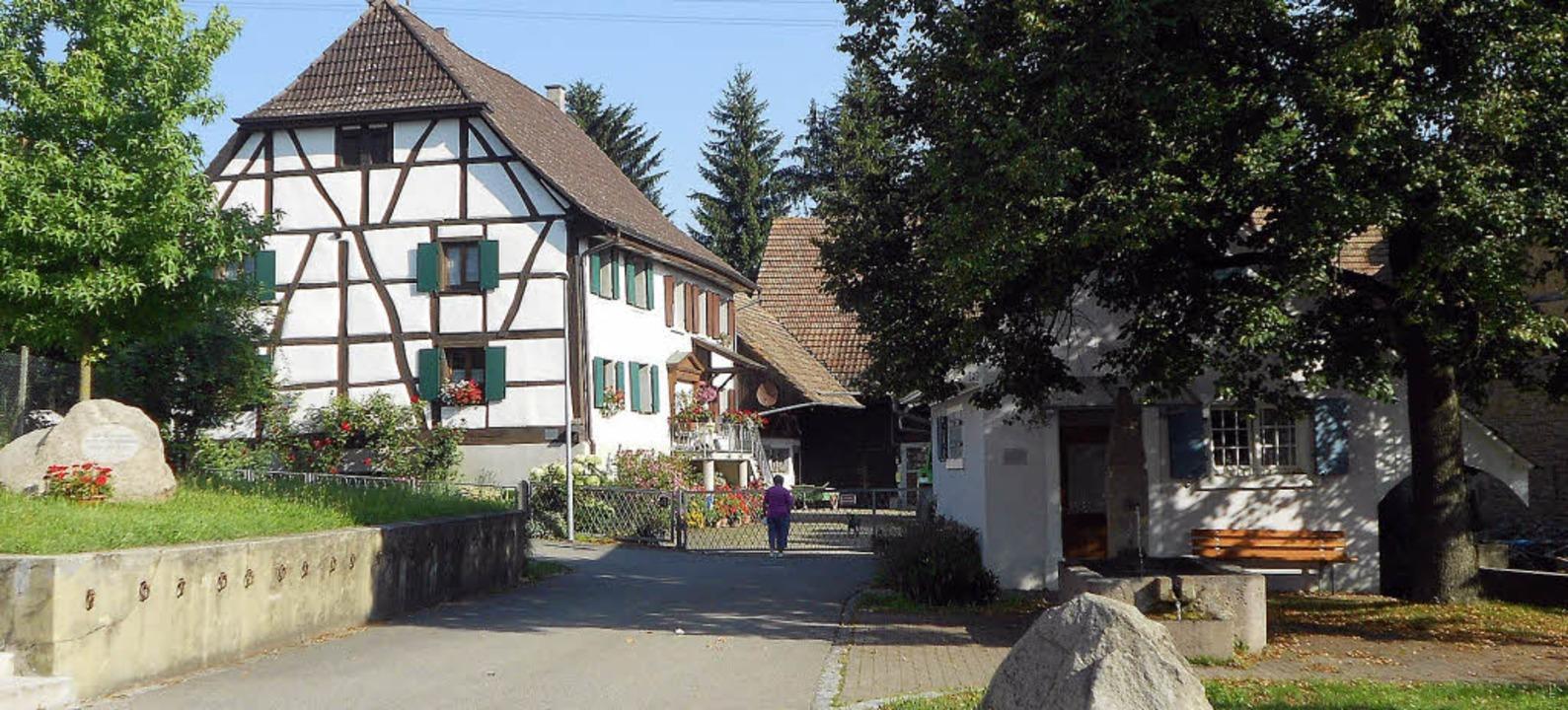 Beschaulich: Die Welmlinger Ortsmitte.  | Foto: Victoria Langelott