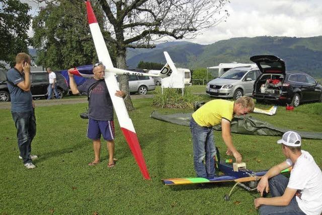 Kinderferienprogramm bringt Modellfluggruppe zwei neue Mitglieder