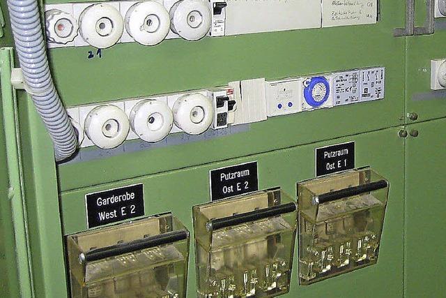 Schulzentrum bekommt neuen Stromverteiler