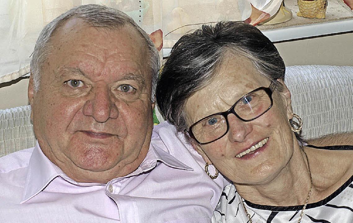 Maria und Josef Wenzel   | Foto: Paul Schleer