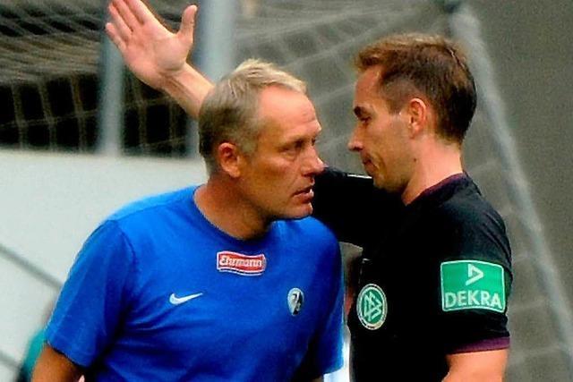Streich sauer auf Hoffenheims Co-Trainer Frank Kaspari