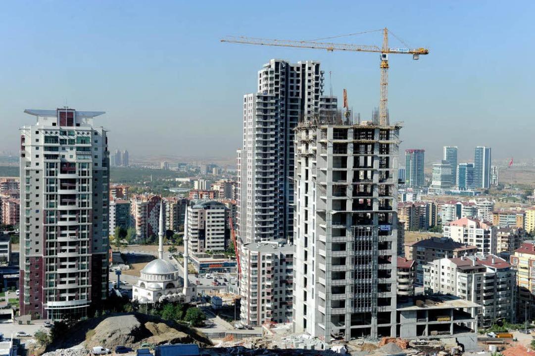 Bauboom in Ankara   | Foto: dpa