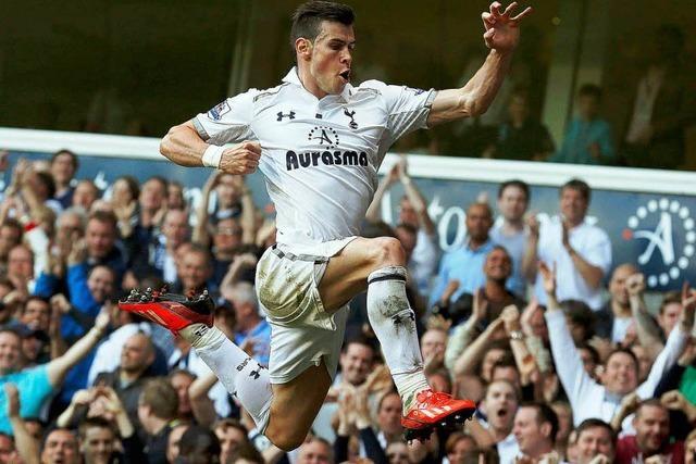 Bale für 99 Millionen zu Real Madrid