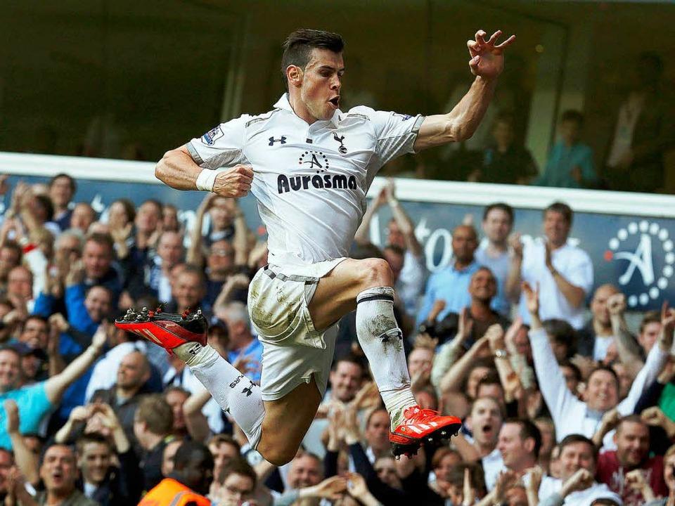 Gareth Bale von Tottenham Hotspur    Foto: dpa