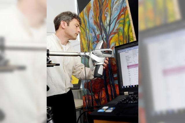 Mit moderner Technik gegen Kunstfälschungen