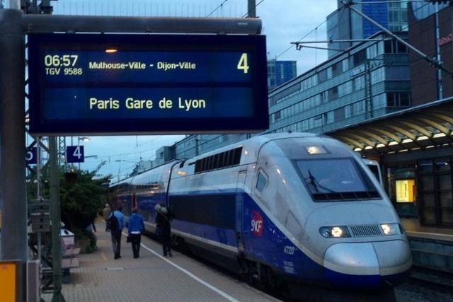 Premiere am Hauptbahnhof: So ist der TGV nach Paris gestartet