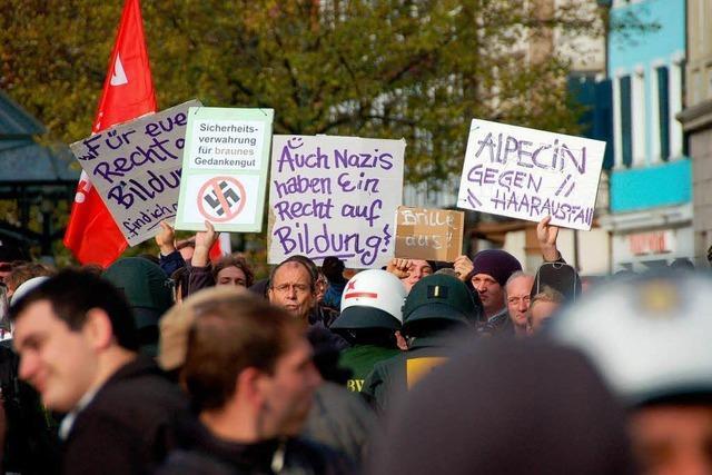 NPD plant angeblich Wahlkampfauftritt in Offenburg