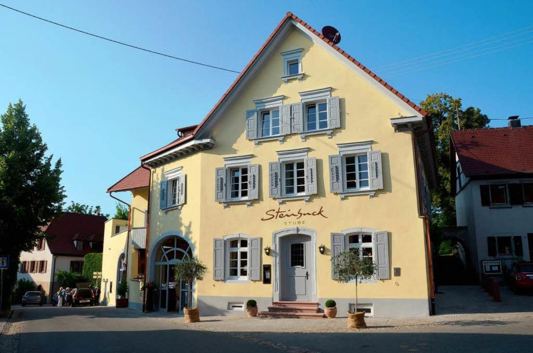Die erst  kürzlich eröffnete Steinbuck...ereits  aufregende Wochen hinter sich.    Foto: Thomas Rhenisch