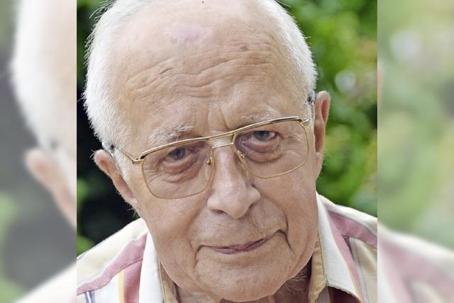 Albrecht Wissert feiert seinen 90. Geburtstag