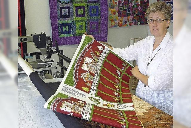 Meredith Witte betreibt in Teningen einen Laden für Quilt und Patchwork