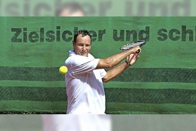 Tennis-Senioren kämpfen um Weltranglistenpunkte