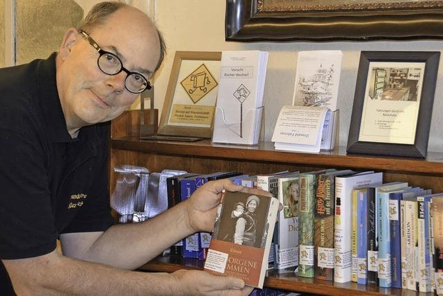 Book-Crossing im Café Süßes Löchle: Bereits 1000 Bücher gespendet