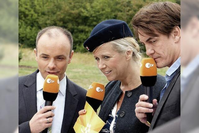 Der Lörracher Notar Claudio Nardi erlebt seine TV-Premiere im ZDF-Fernsehgarten