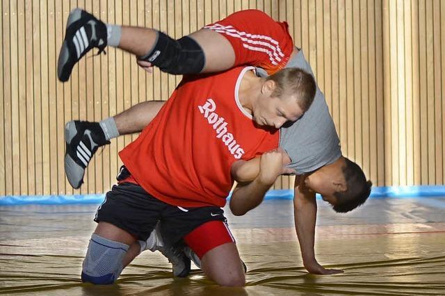 So bereiten sich Freiburgs Zweitliga-Ringer auf die neue Runde vor