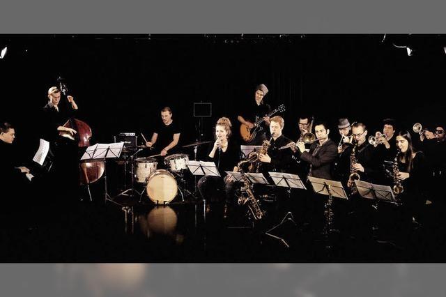 Das 13-köpfige Sarah Chaksad Orchestra spielt im Waldsee