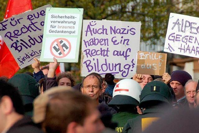 NPD-Wahlkampf und Gegendemo in Offenburg geplant