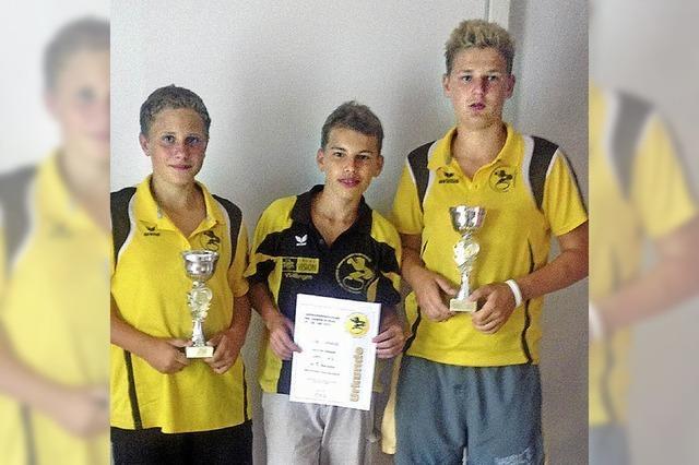 Vier Landesmeister