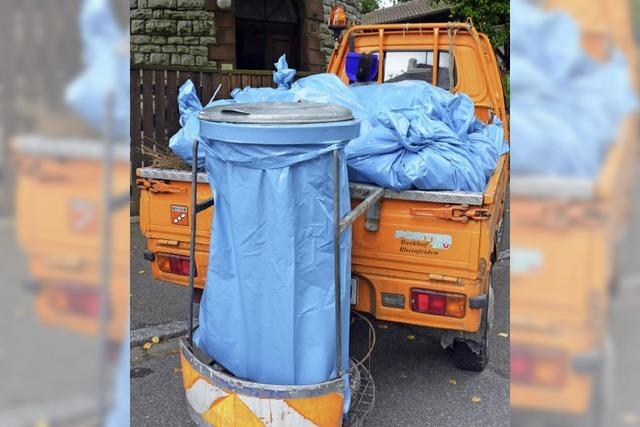 Täglicher Kampf um die Sauberkeit