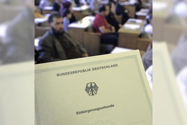 Weniger Einbürgerungen