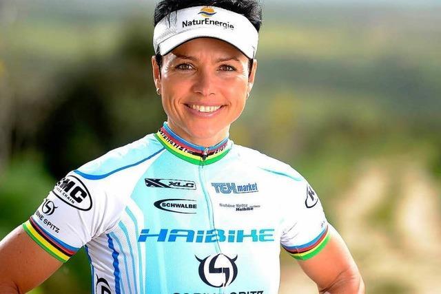 Sabine Spitz stürzt schwer – WM-Aus für Olympiasiegerin