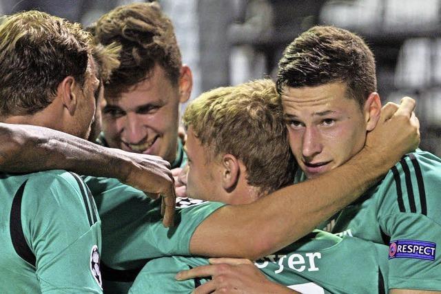 Schalke gewinnt in Saloniki und spielt in der Königsklasse