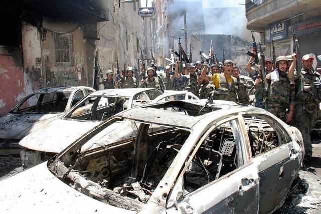 Was sagen Syrer aus der Region zu einem möglichen Militärschlag?