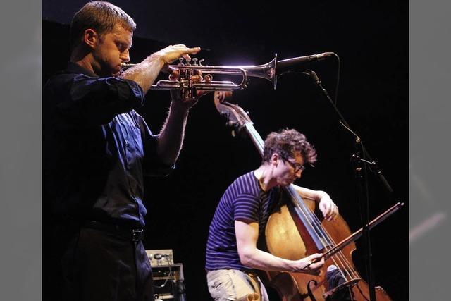 Peter Evans Trio - Jazz im Extrembereich