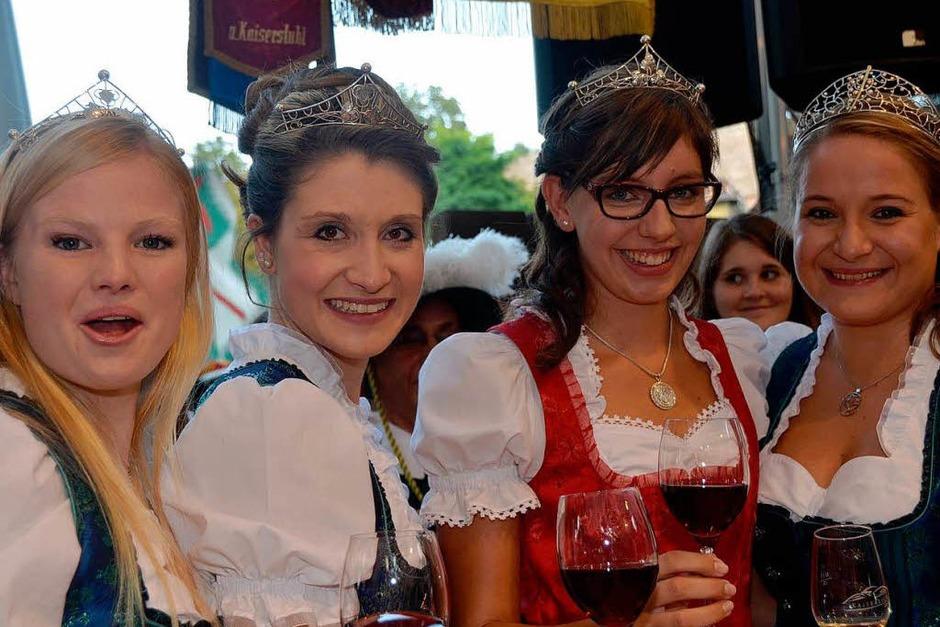 Vier Weinhoheiten auf einen Streich! (Foto: Gerold Zink)