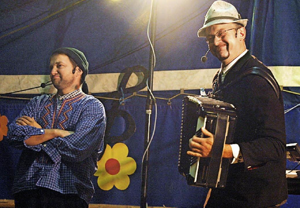 Comedy und jede Menge Musik gab es beim Waldfest der Trachtenkapelle Hogschür  | Foto: Karin Stöckl-Steinebrunner