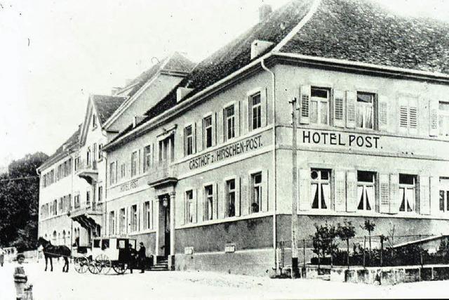 Gasthäuser, die Geschichte schrieben