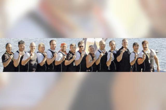 RC Grenzach fährt mit dem Drachenboot zu Bronze bei der Club-EM