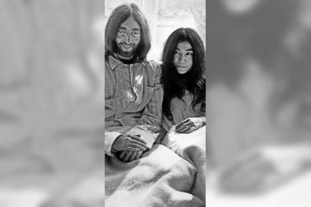 Im Geist ist Yoko Ono zu Gast