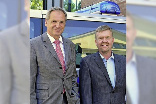 Reinhold Gall steht zur Polizeistrukturreform