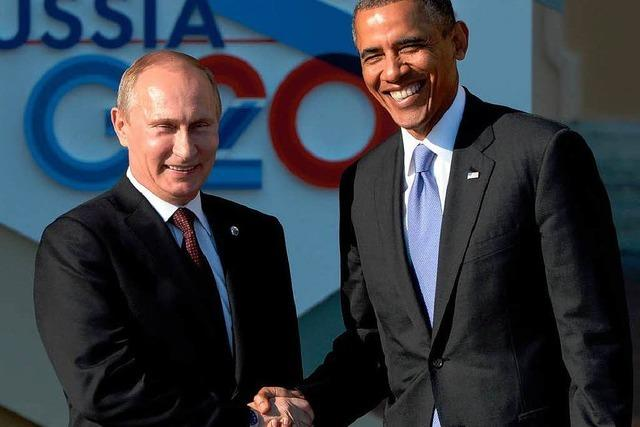 Putin und Obama: Die Fronten sind verhärtet