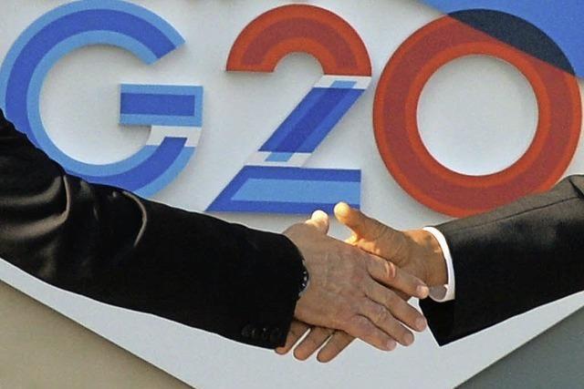 G20: Gestörte Gipfelregie