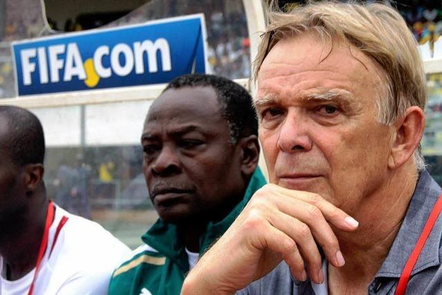 Volker Finke und das Abenteuer Kamerun