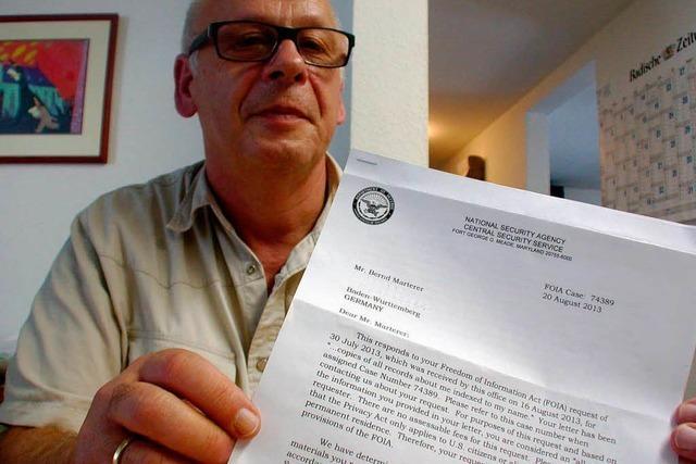 Post von der NSA: Geheimdienst antwortet einem Schwarzwälder