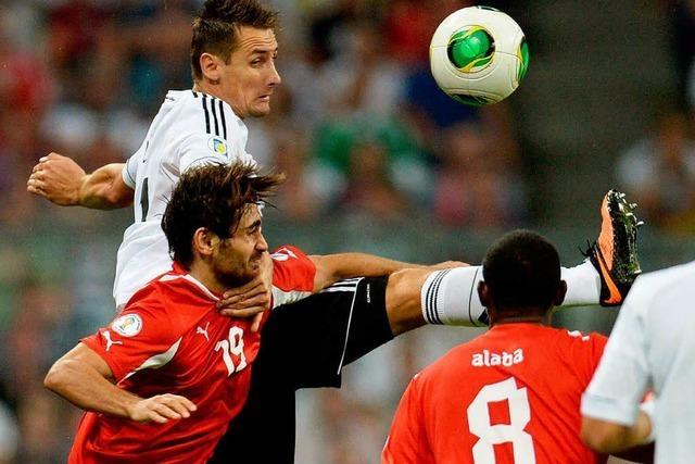 3:0 gegen Österreich – Löw-Team ist fast schon in Brasilien