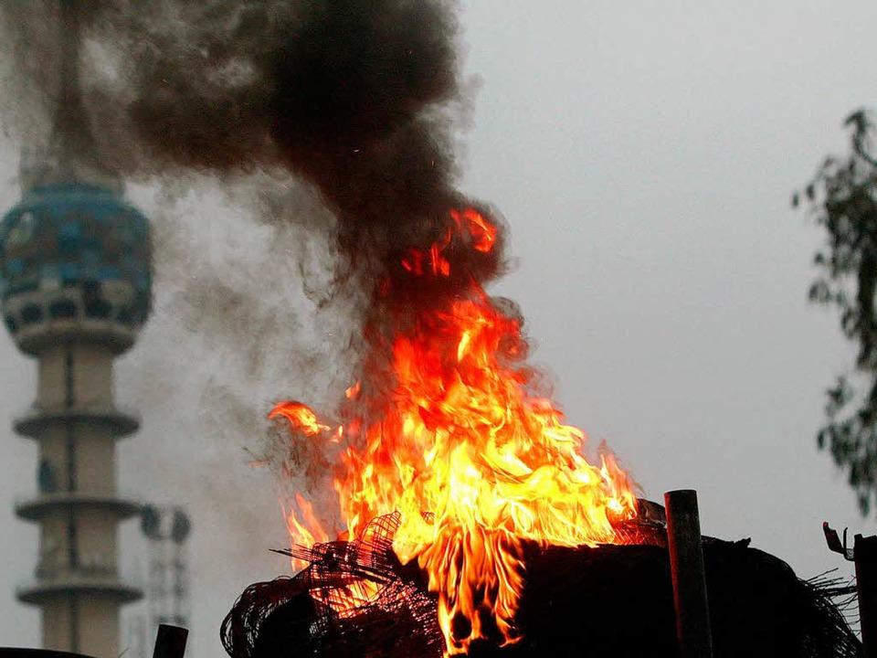 Selbstmordattentat im Irak: Was treibt...ng versucht, ihre Psyche zu ergründen.  | Foto: AHMAD AL-RUBAYE