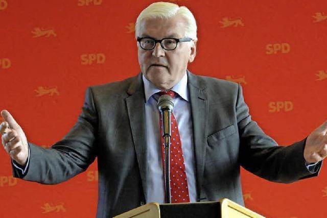 Wie war's bei ... Frank-Walter Steinmeier in Denzlingen?
