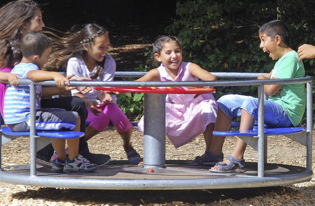 Der Freundeskreis Asyl lädt Kinder aus... zu einem Ausflug  nach Waldshut ein.   | Foto: Danielle Hirschberger