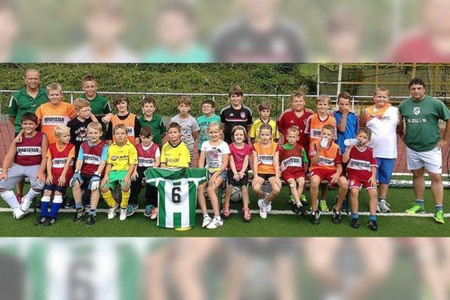 Fußballerisches Talent blitzte durch