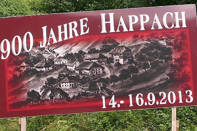 900-Jahr-Feier von Happach