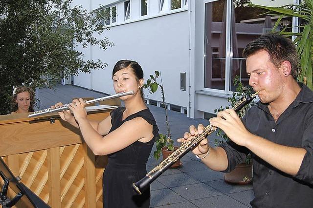 Musikalische Erfrischung am Abend