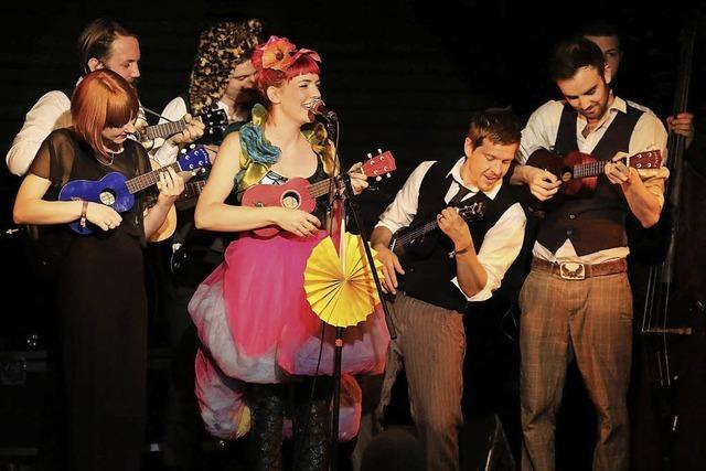 Gabby Young & Other Animals in Freiburg: Nixe, Ballerina, Pippi