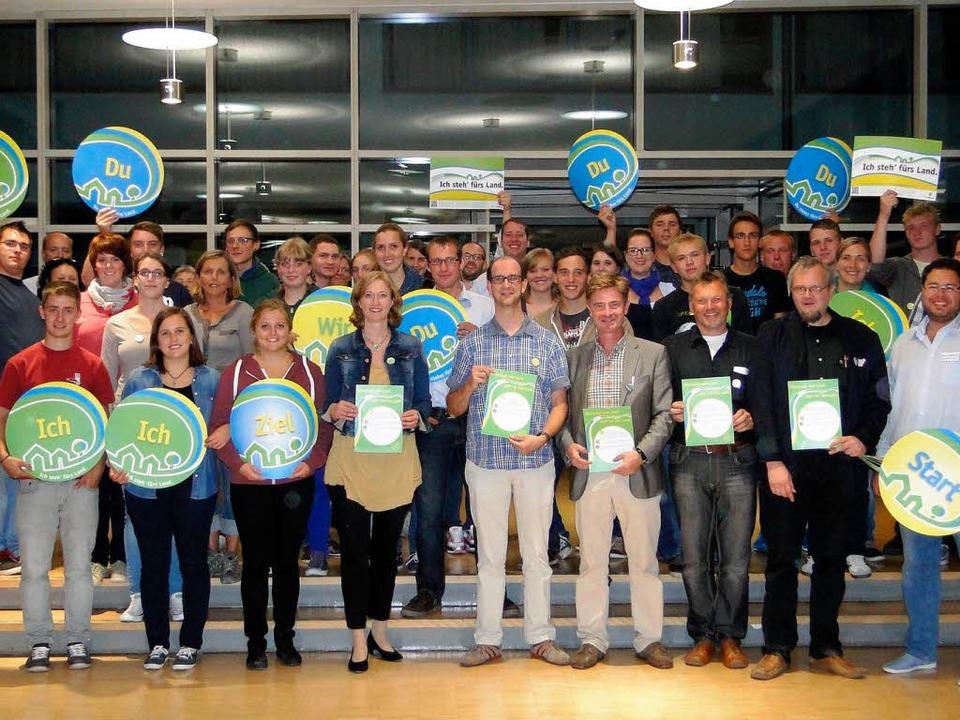 Der Bund Badischer Landjugend organisi...andidatencheck für die Bundestagswahl.  | Foto: Elisabeth Saller
