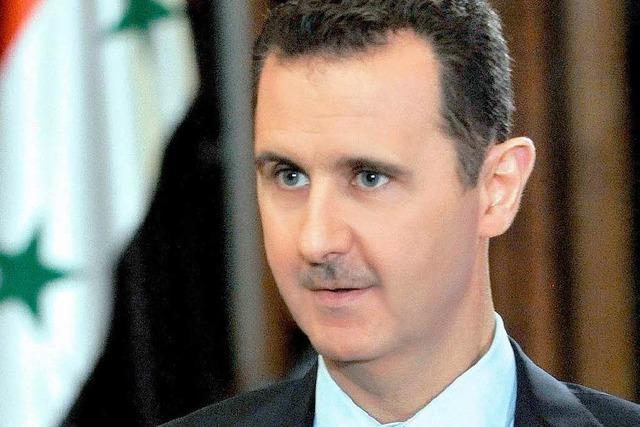 Syrien stimmt Kontrolle seiner Chemiewaffen zu